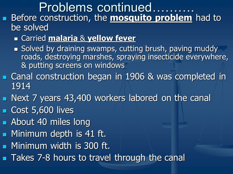 Problems continued……….
