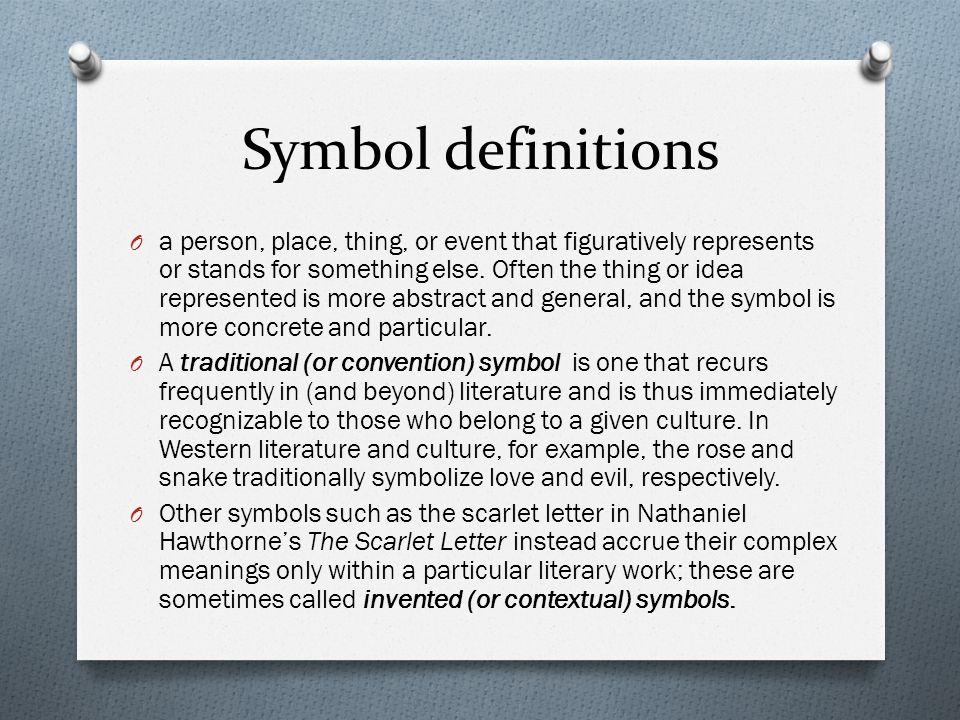 Symbol definitions