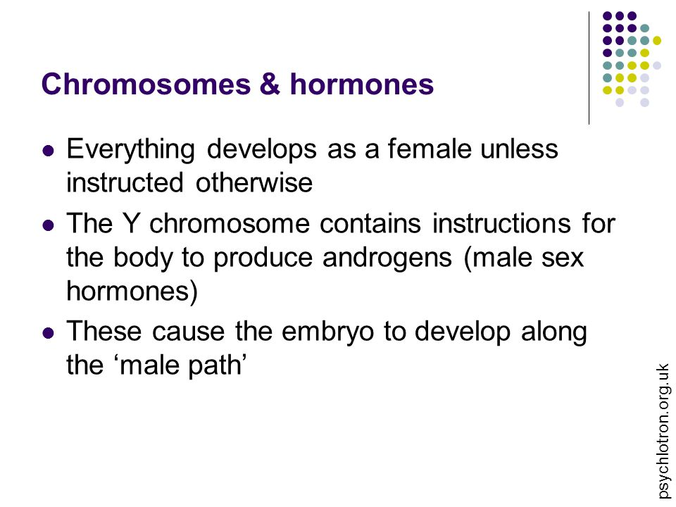 Chromosomes & hormones