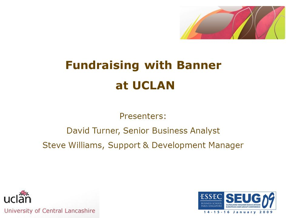 Fundraising with Banner