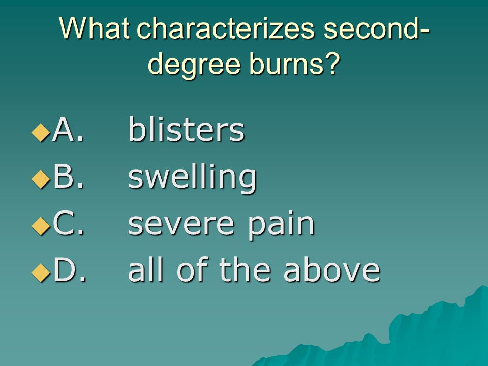 What characterizes second-degree burns