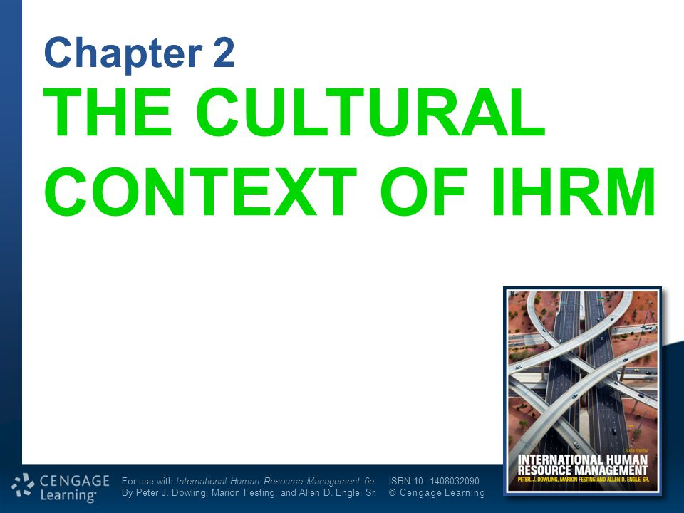 the enduring context of ihrm
