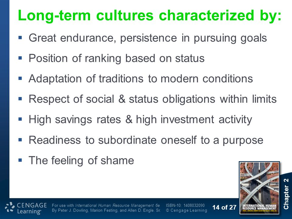 Long-term cultures characterized by: