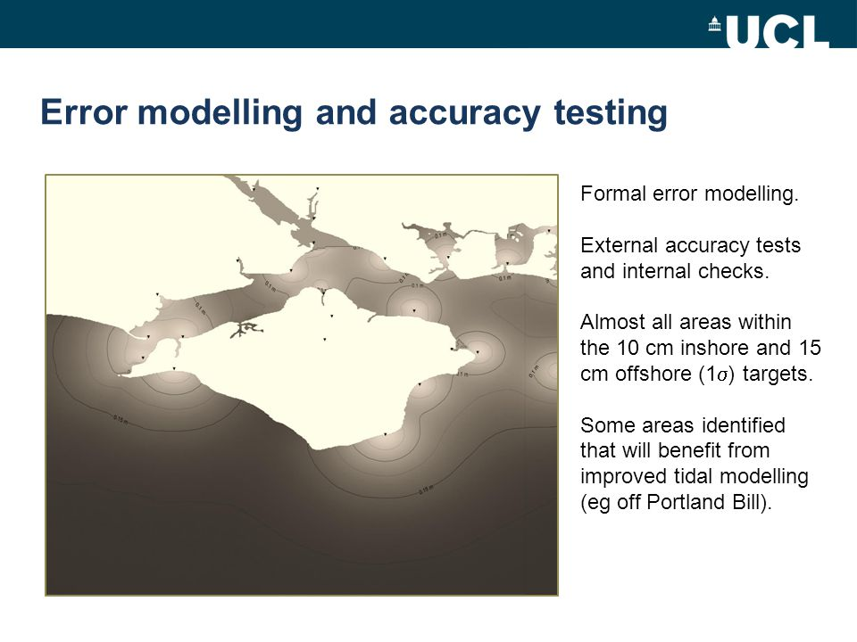 Error modelling and accuracy testing