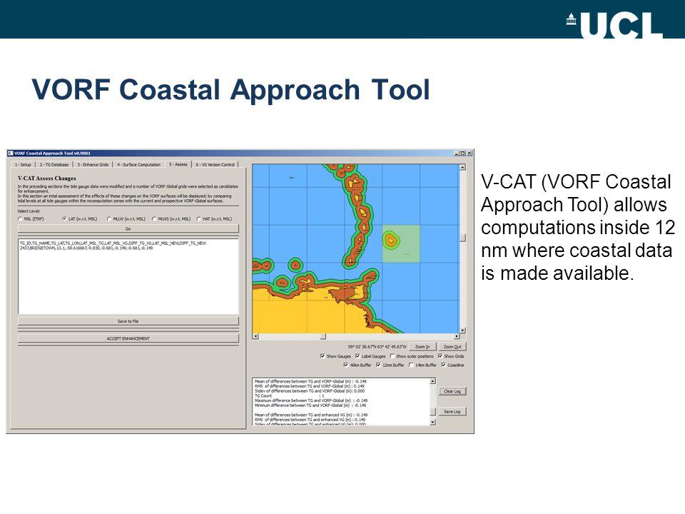 VORF Coastal Approach Tool