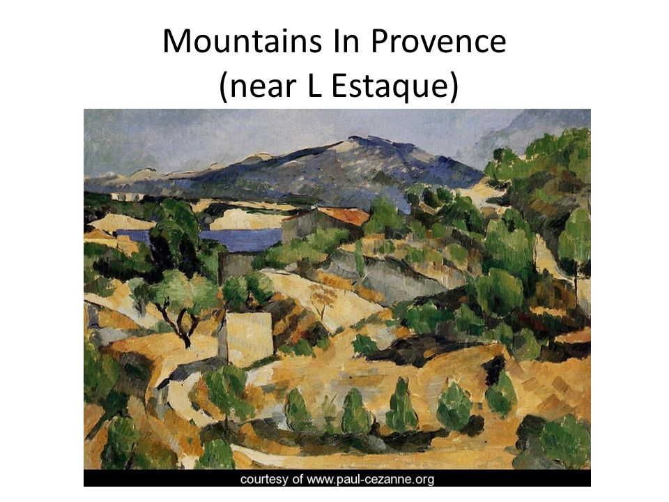 Mountains In Provence (near L Estaque)