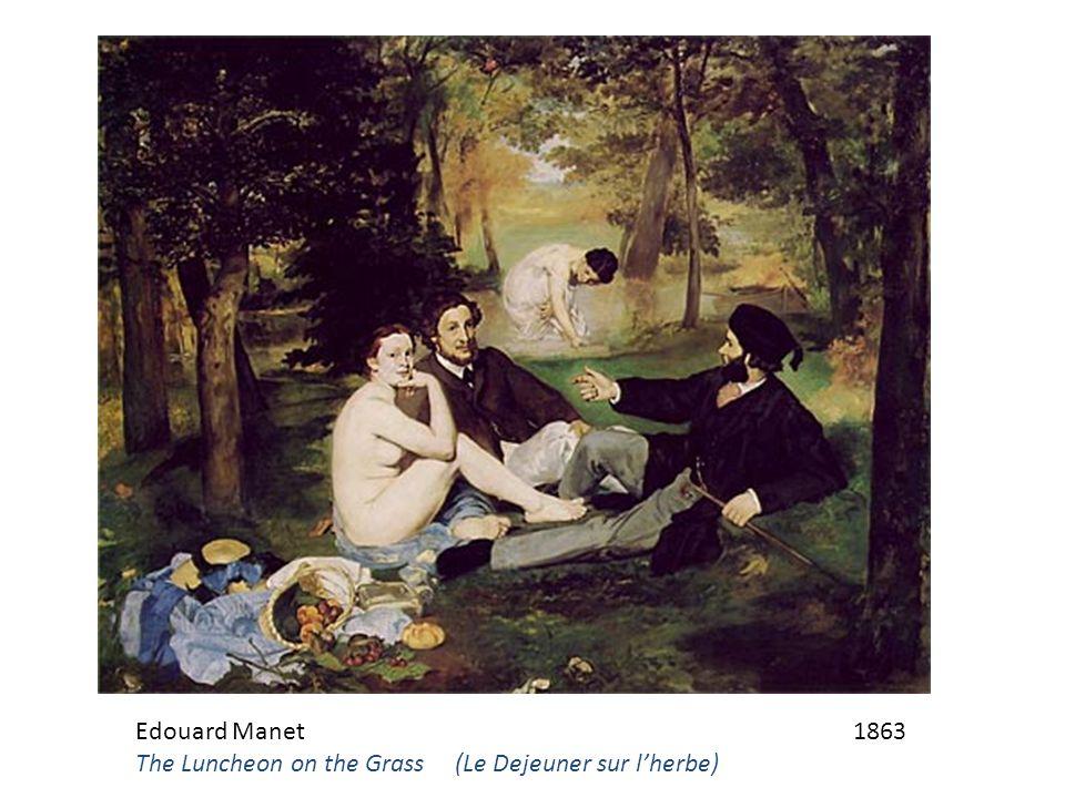Edouard Manet 1863