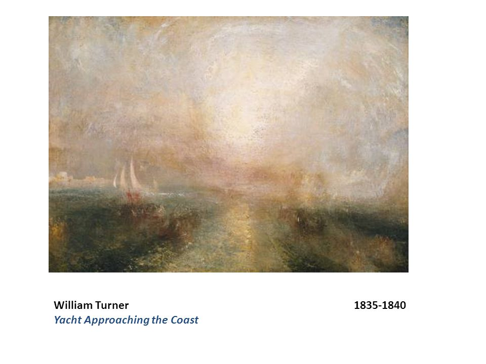 William Turner 1835-1840