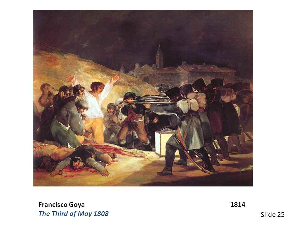 Francisco Goya 1814
