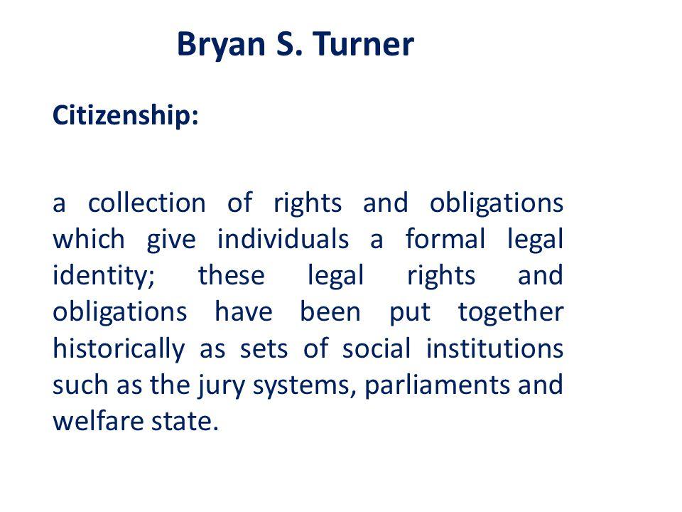 Bryan S. Turner