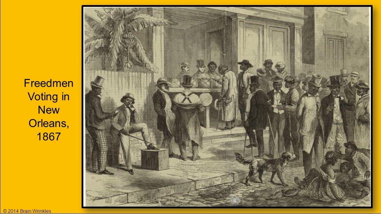 Freedmen Voting in New Orleans, 1867