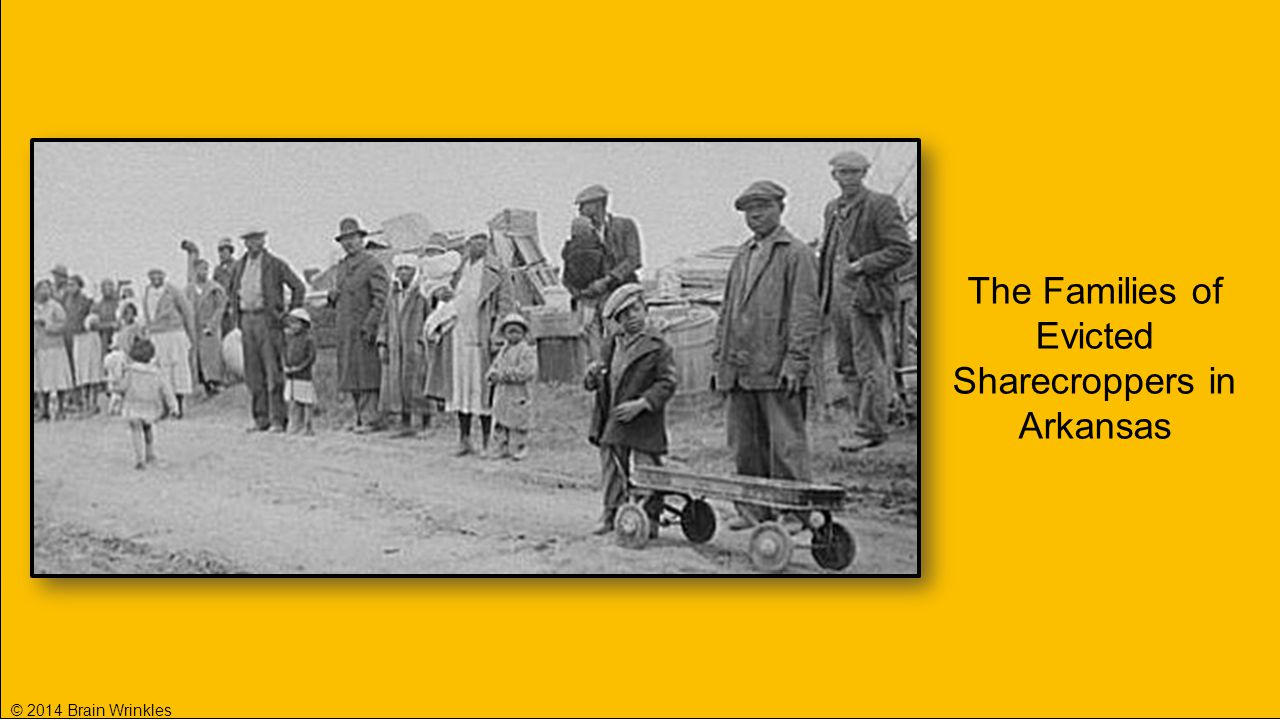 The Families of Evicted Sharecroppers in Arkansas