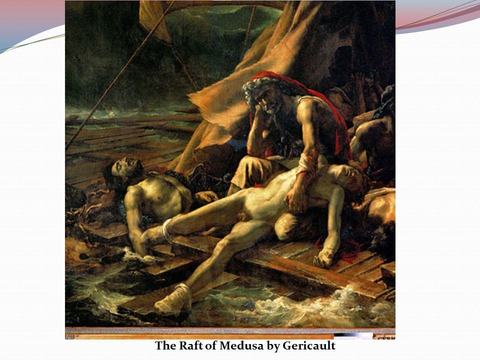 The Raft of Medusa by Gericault