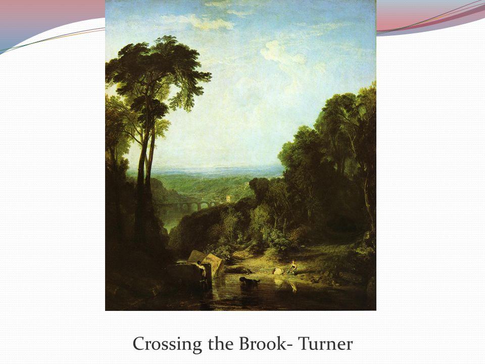 Crossing the Brook- Turner