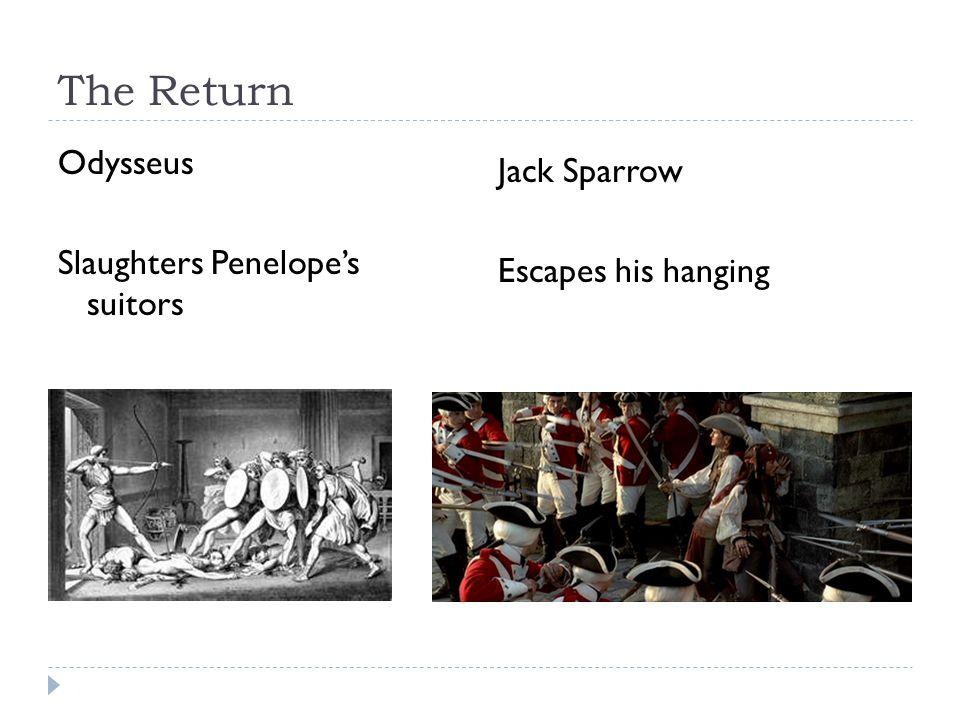 The Return Odysseus Slaughters Penelope's suitors Jack Sparrow