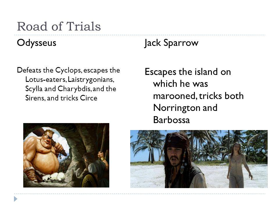 Road of Trials Odysseus Jack Sparrow