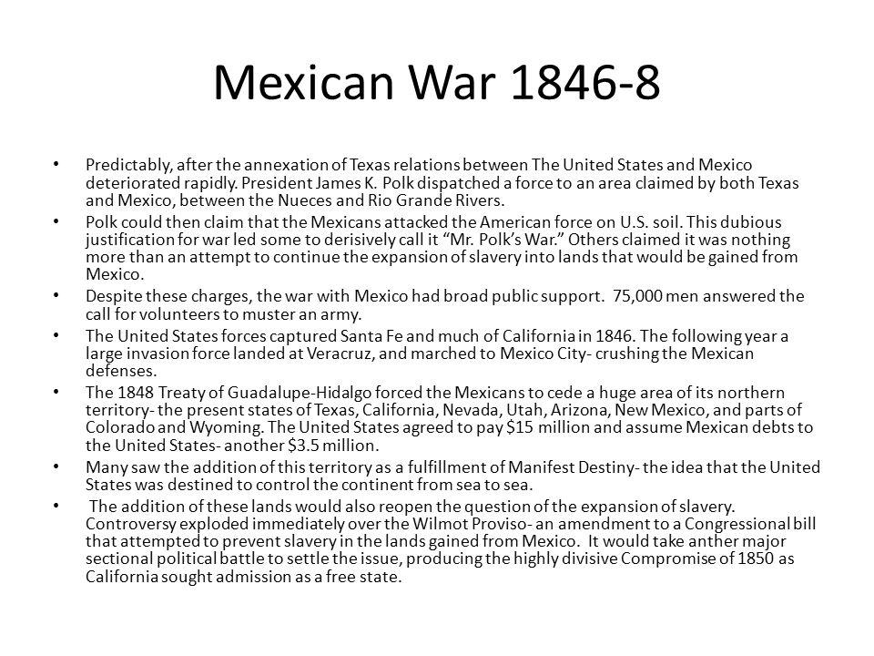 Mexican War 1846-8