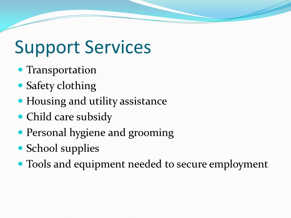 Support Services Transportation Safety clothing