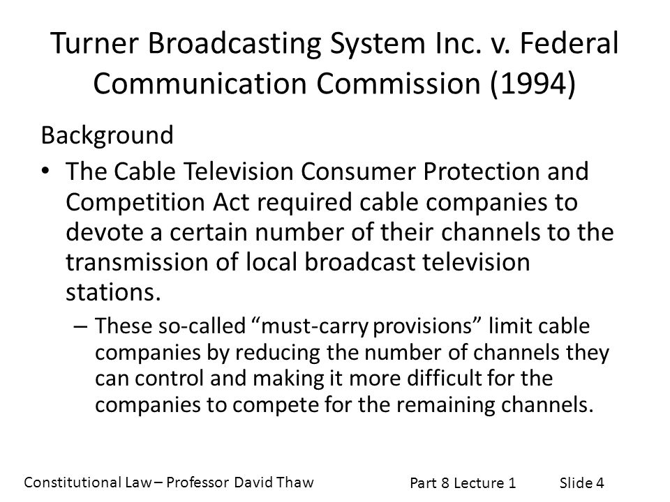 Turner Broadcasting System Inc. v