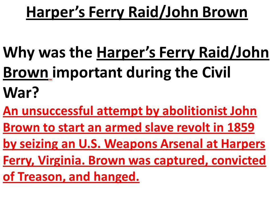 Harper's Ferry Raid/John Brown