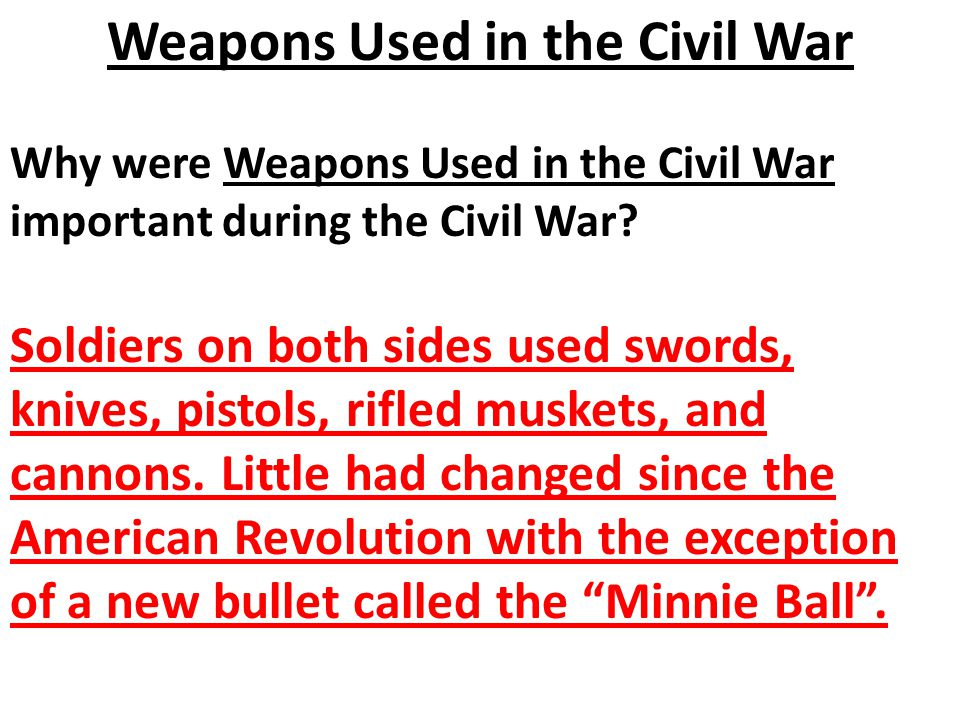 why american civil war necessary Throughout the history of the american republic, there has been a tension  between two virtues necessary to sustain republican government: vigilance and.