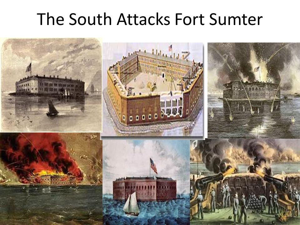The South Attacks Fort Sumter