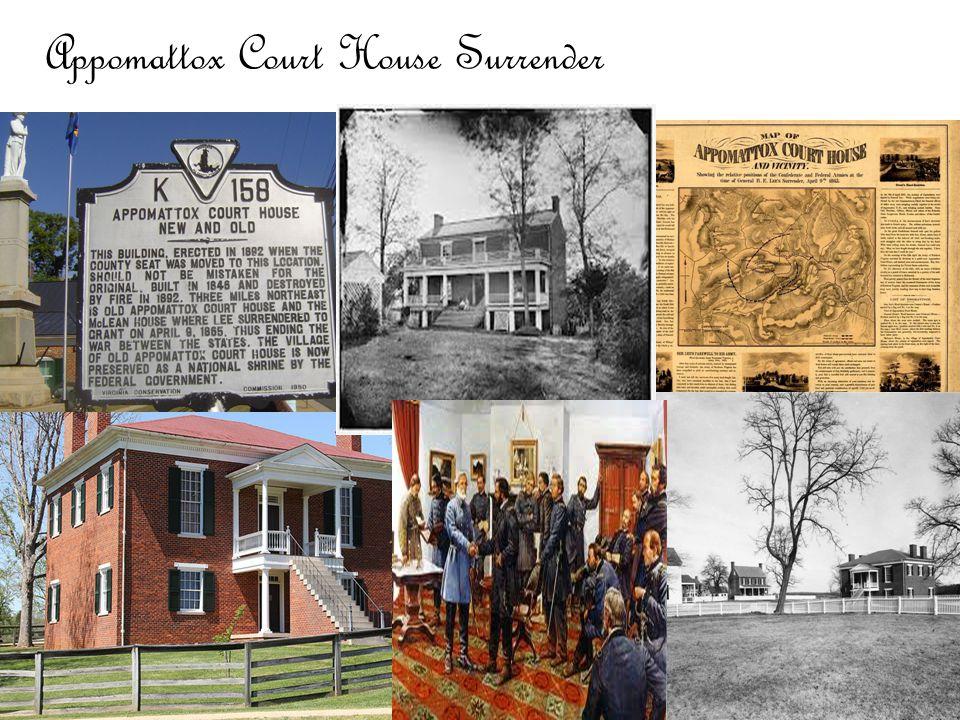 Appomattox Court House Surrender