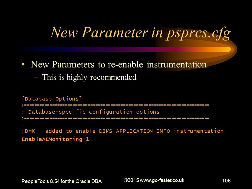 New Parameter in psprcs.cfg