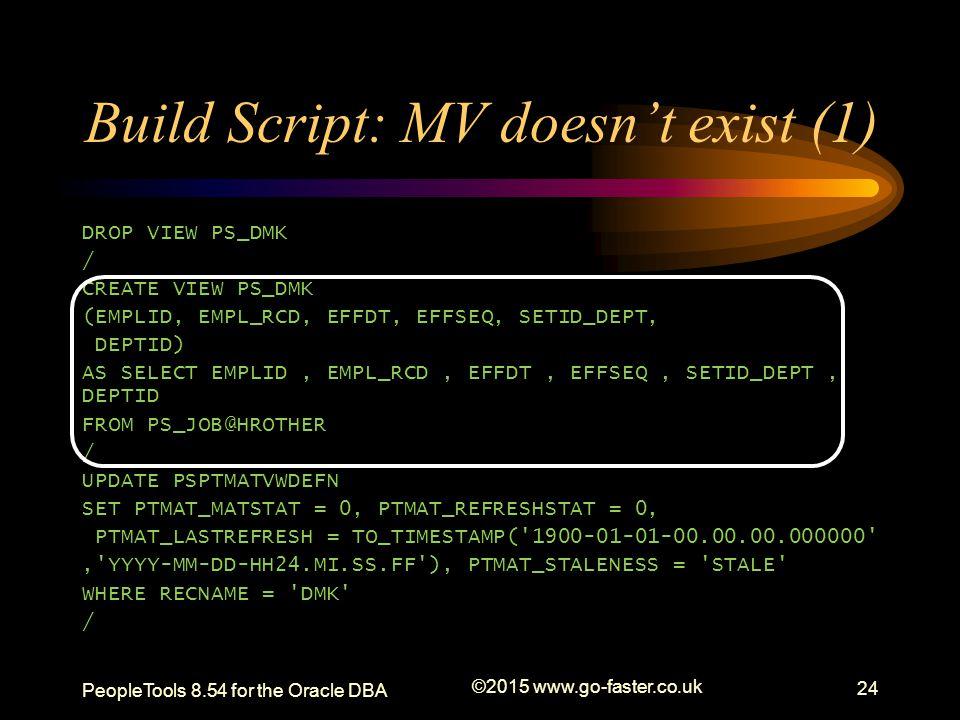 Build Script: MV doesn't exist (1)