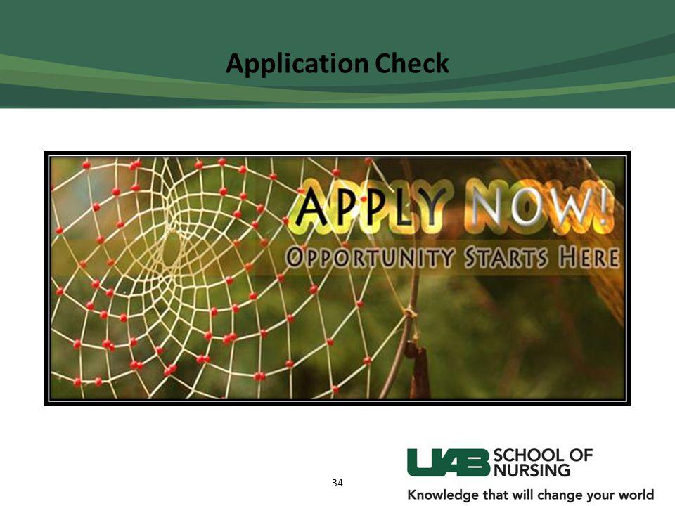 Application Check 34