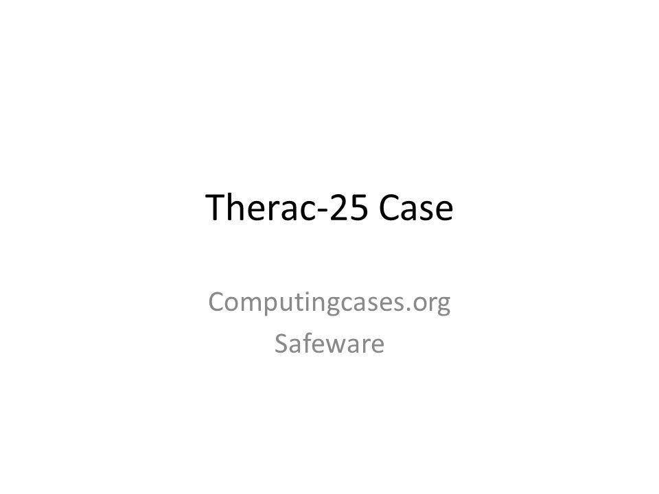 Computingcases.org Safeware