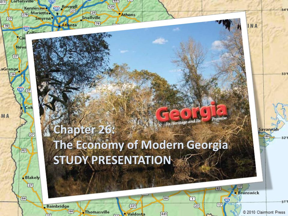 The Economy of Modern Georgia STUDY PRESENTATION