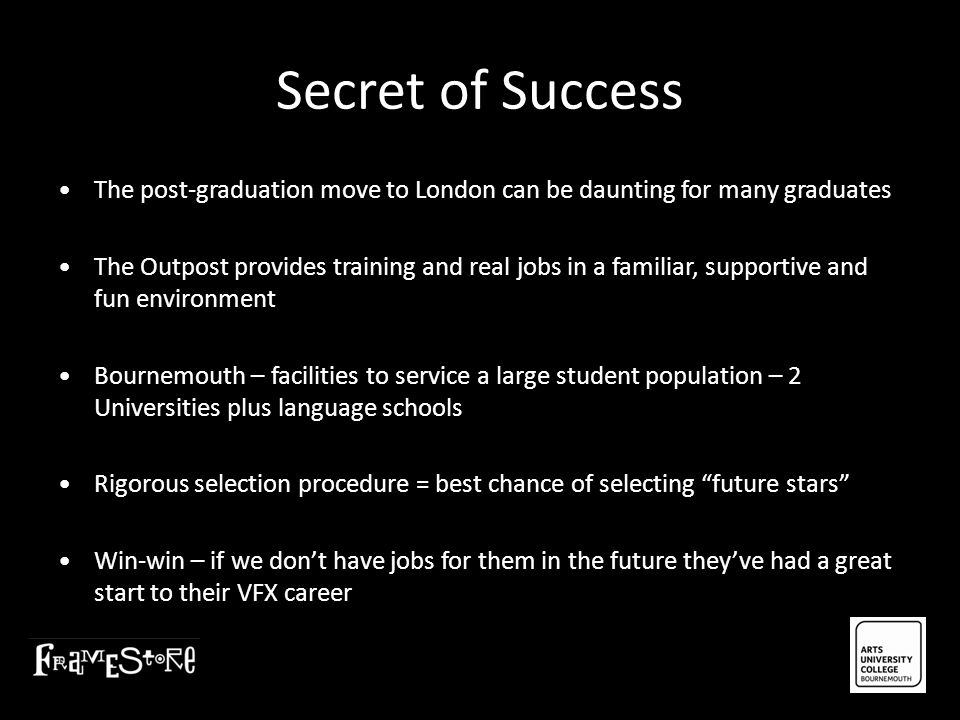 Secret of Success • The post-graduation move to London can be daunting for many graduates.