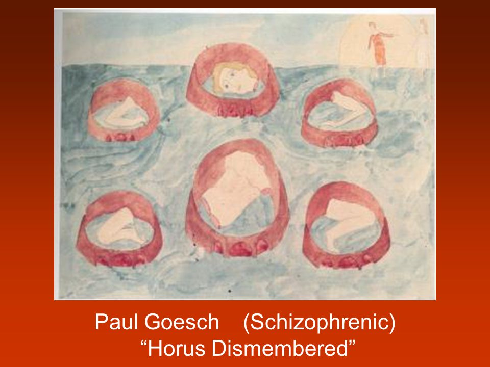 Paul Goesch (Schizophrenic)