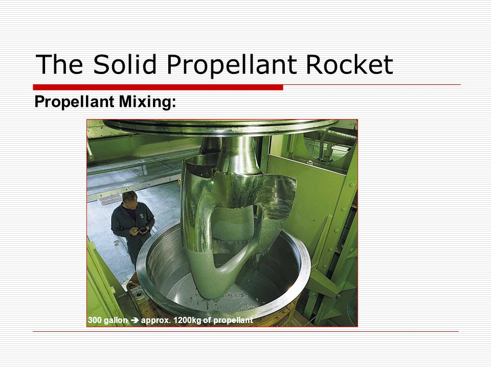The Solid Propellant Rocket