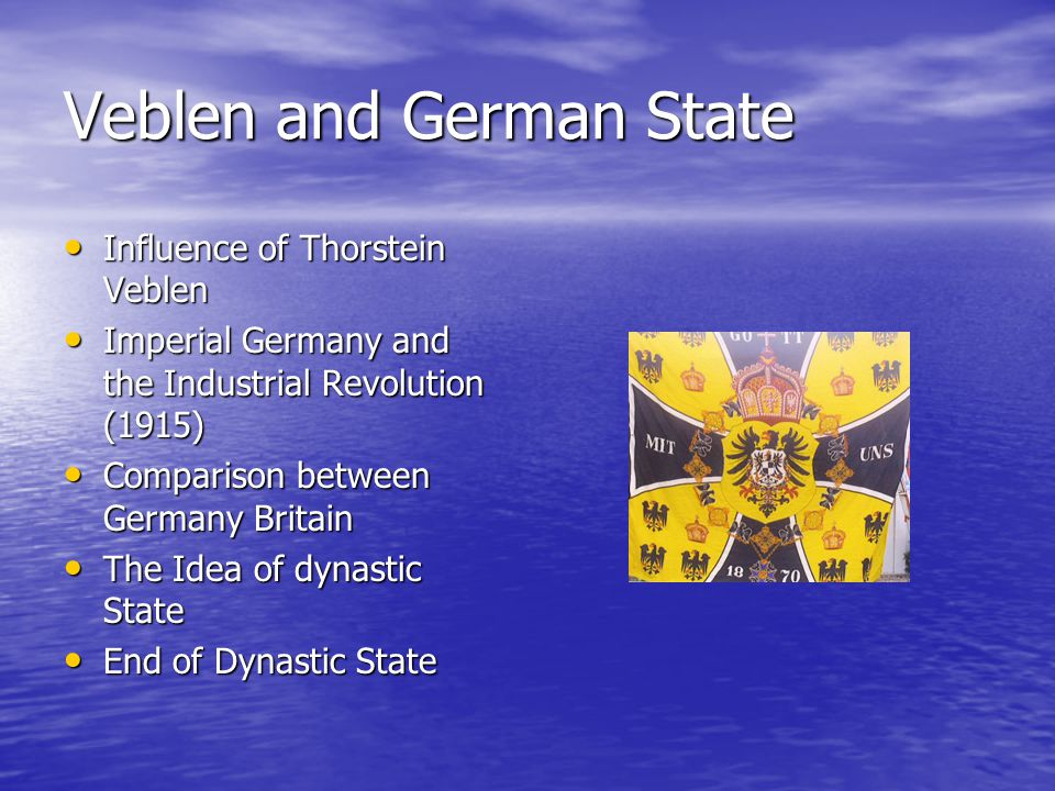 Veblen and German State