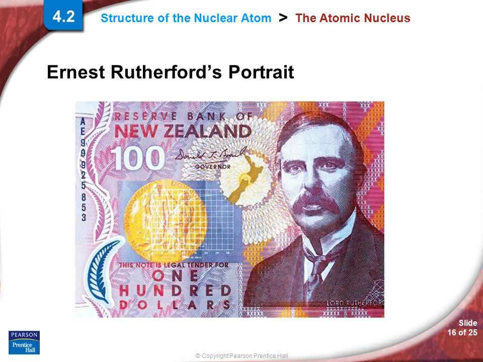 Ernest Rutherford's Portrait