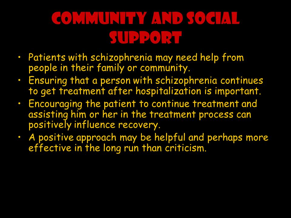 COMMUNITY AND SOCIAL SUPPORT