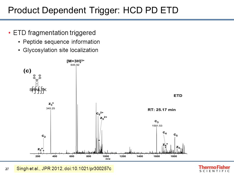 Product Dependent Trigger: HCD PD ETD