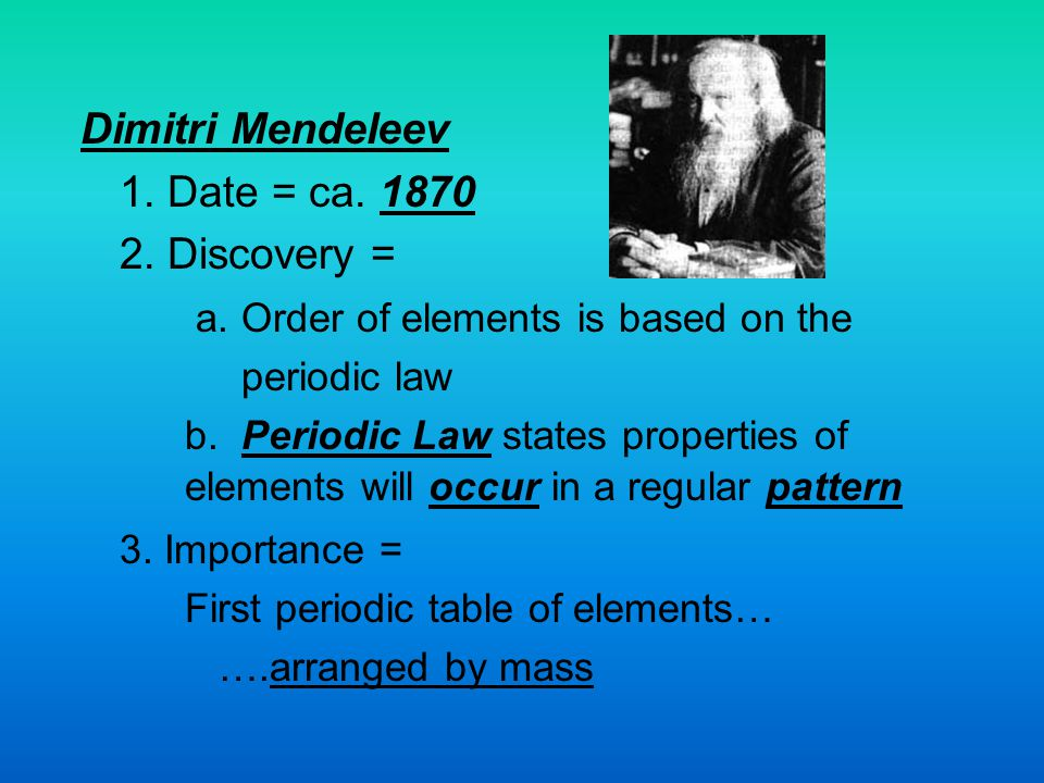 a. Order of elements is based on the