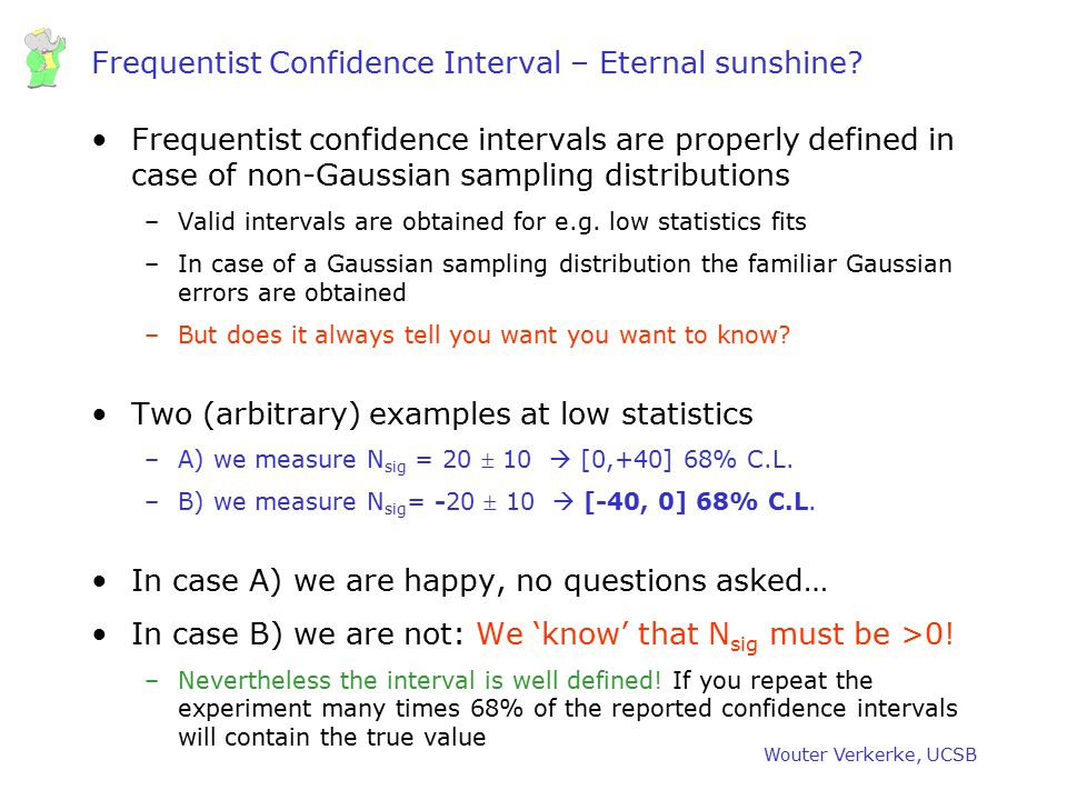 Frequentist Confidence Interval – Eternal sunshine
