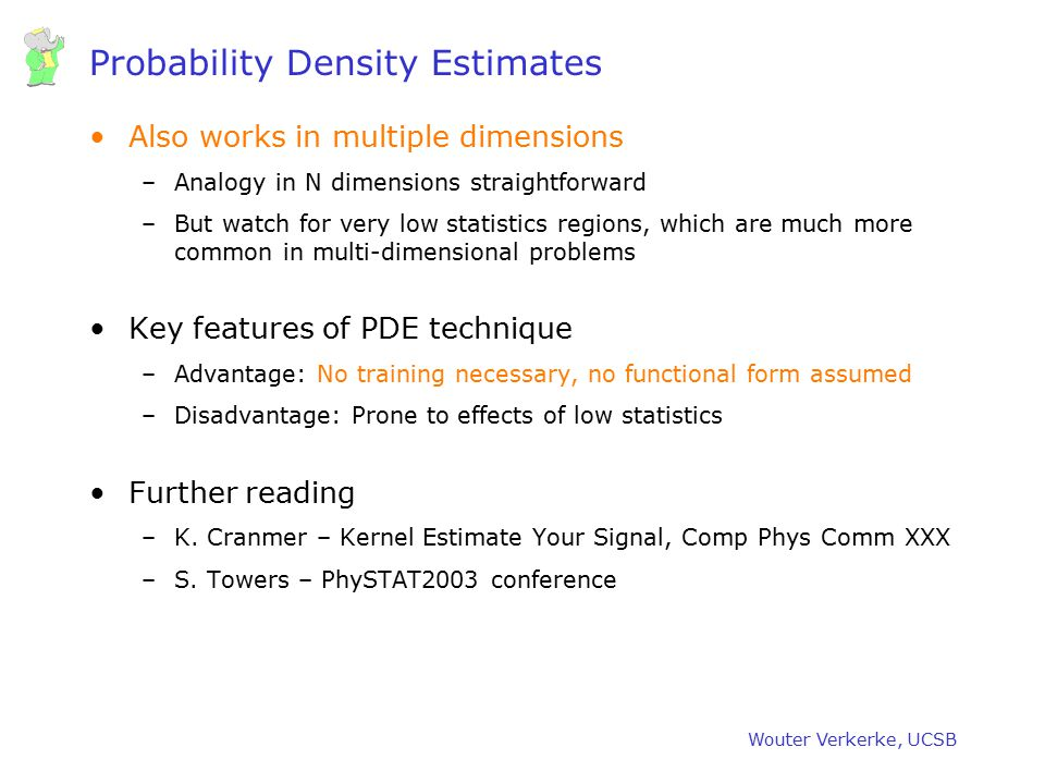 Probability Density Estimates