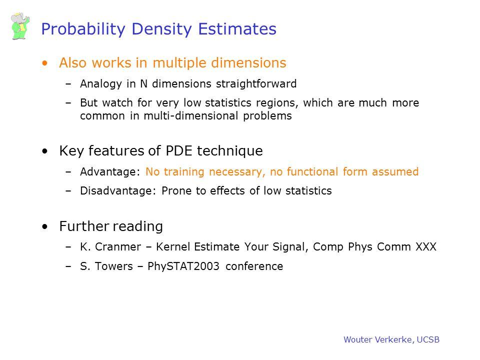 Probability Density Estimates