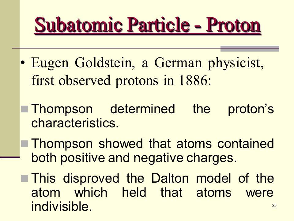 Subatomic Particle - Proton