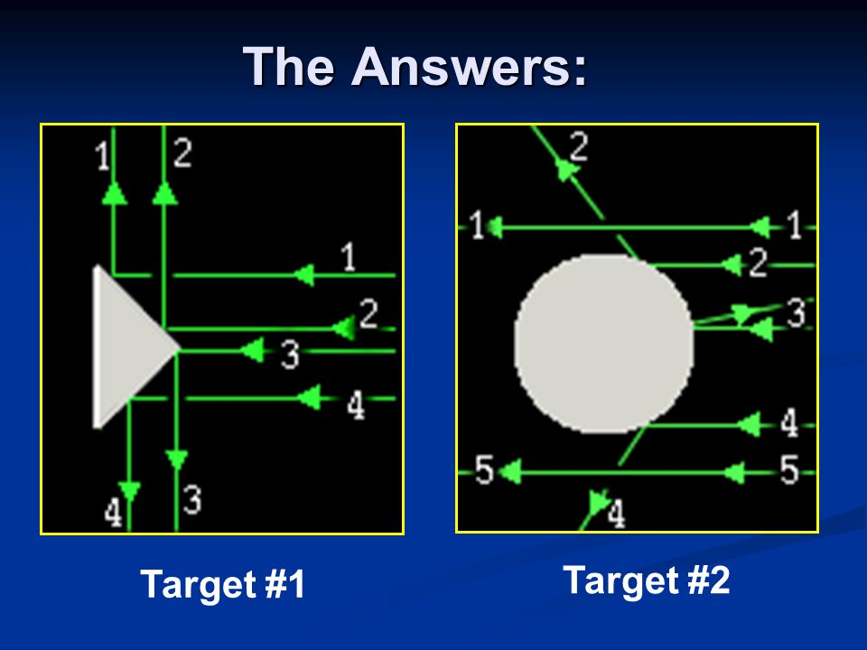 The Answers: Target #1 Target #2