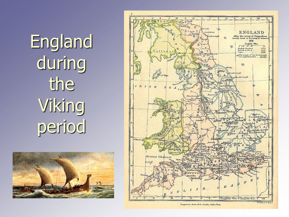 England during the Viking period