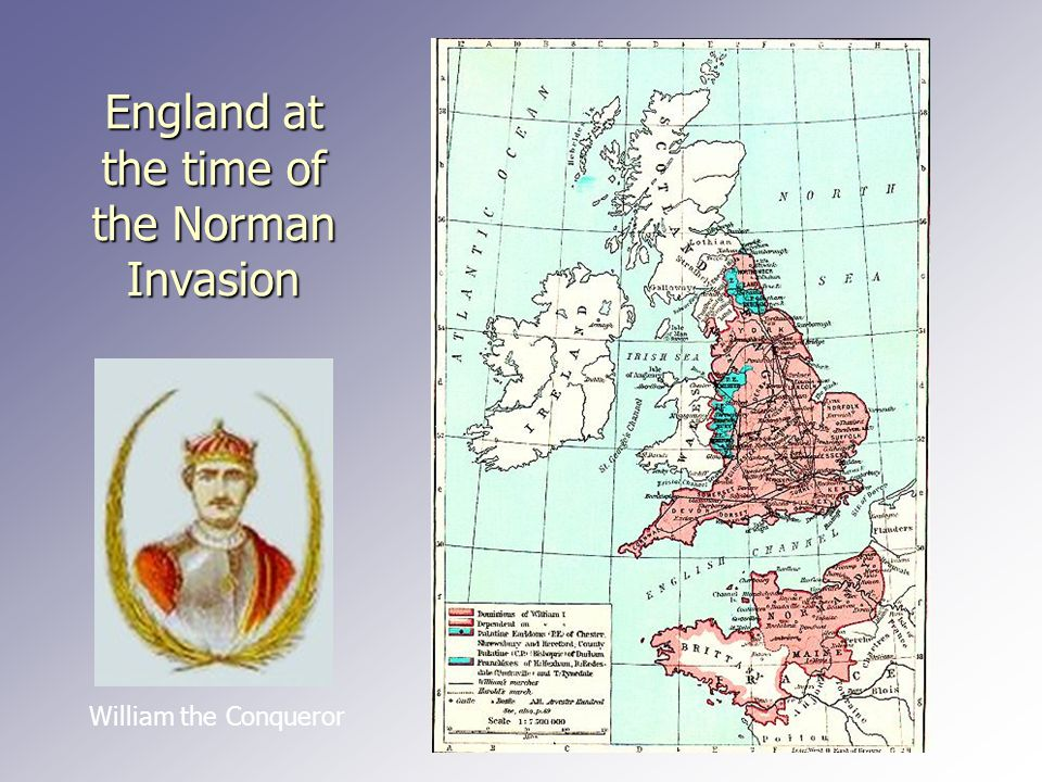 England at the time of the Norman Invasion