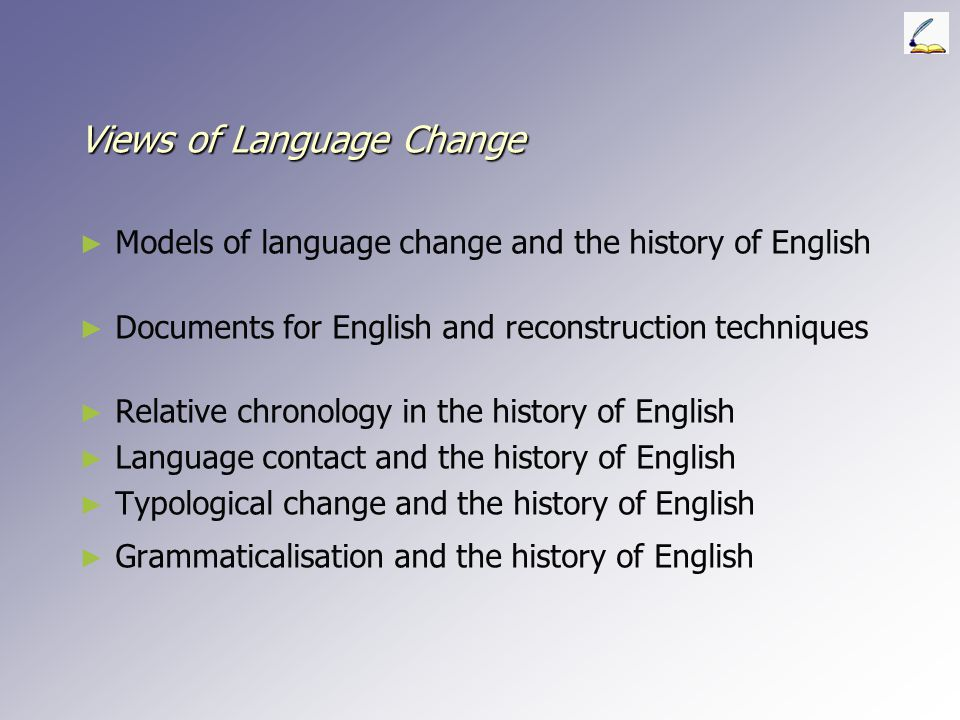 Views of Language Change