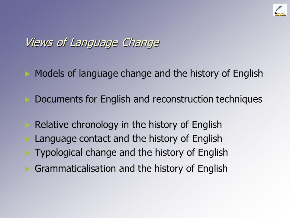 Views of Language Change