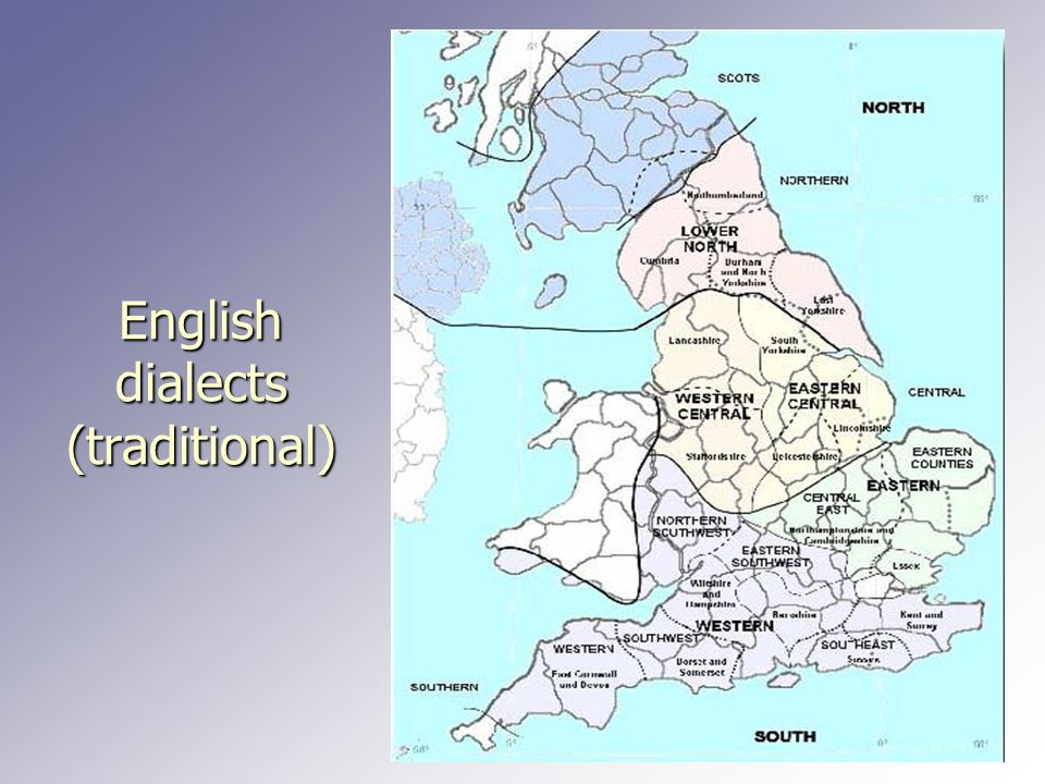English dialects (traditional)